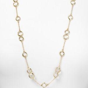 """Kate Spade NY Crystal Confetti 34"""" long Necklace"""